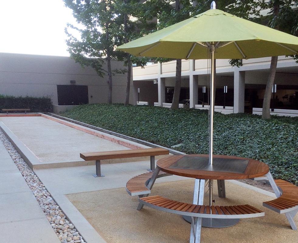 Esplanade Builders, Inc. | Project: Sitework Improvements and Lobby Modernization