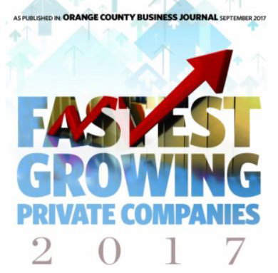 OCBJ Fastest Growing Private Companies | 2017